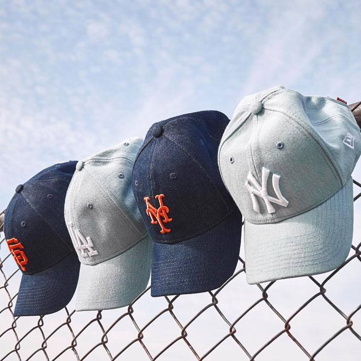 f18c3a8dc09 New Era MLB x Levis 9TWENTY Strapback Hats