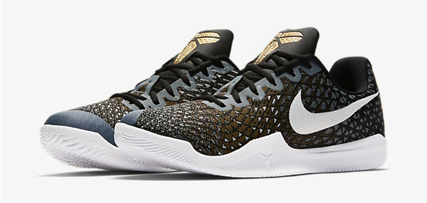 ce92c3d4806b Nike Kobe Mamba Instinct Black Grey Gold White