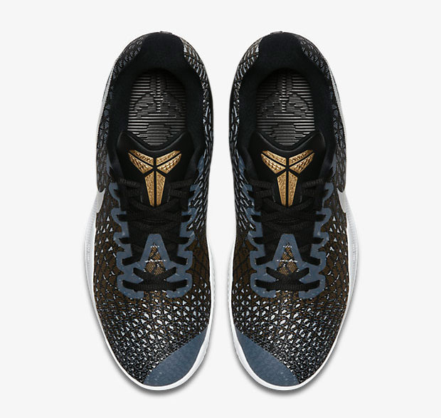 Nike Kobe Mamba Instinct Black Grey Gold White |