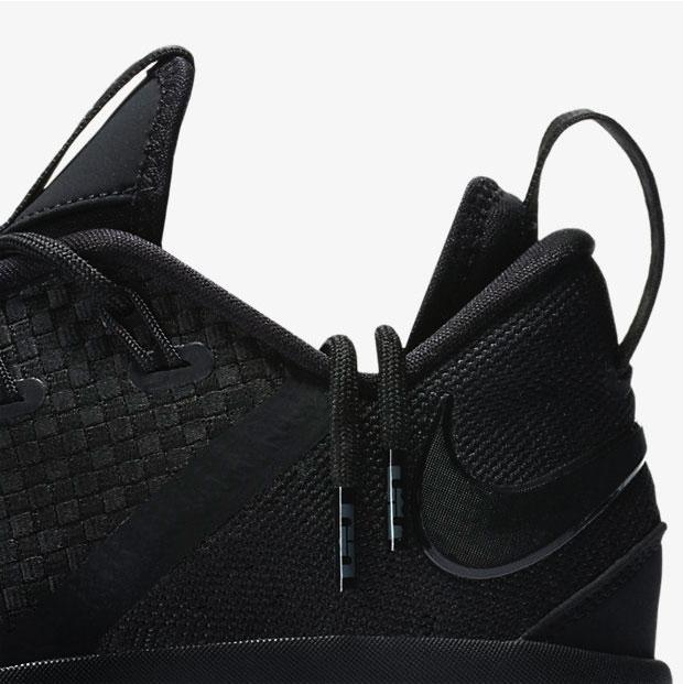 purchase cheap 49780 c40a3 Nike LeBron 14 Low Black | SportFits.com
