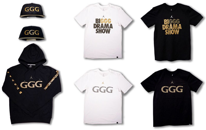 caja mediodía caja  GGG Jordan Shirts and Hats for Canelo vs GGG   SportFits.com