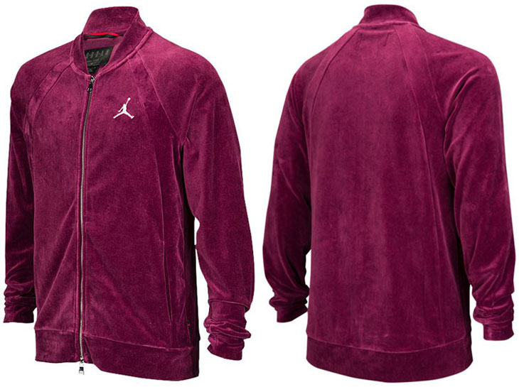 950093b1ddd Jordan Sportswear Velour Jackets | SportFits.com