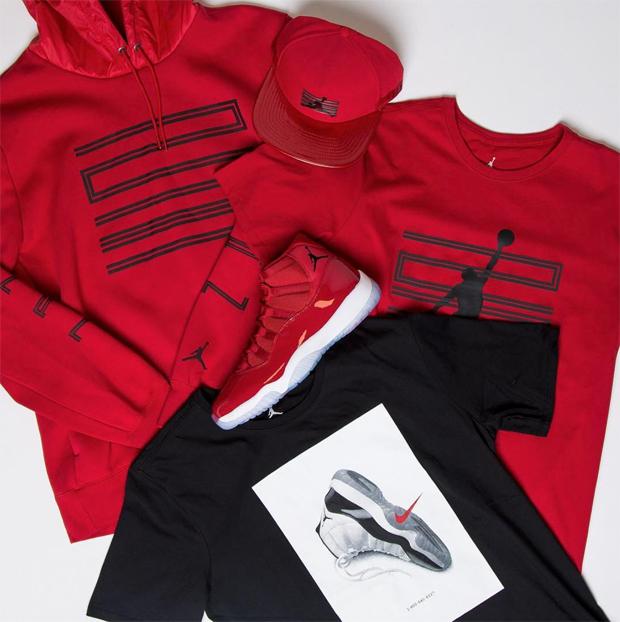 Air Jordan 11 Clothing | SportFits.com