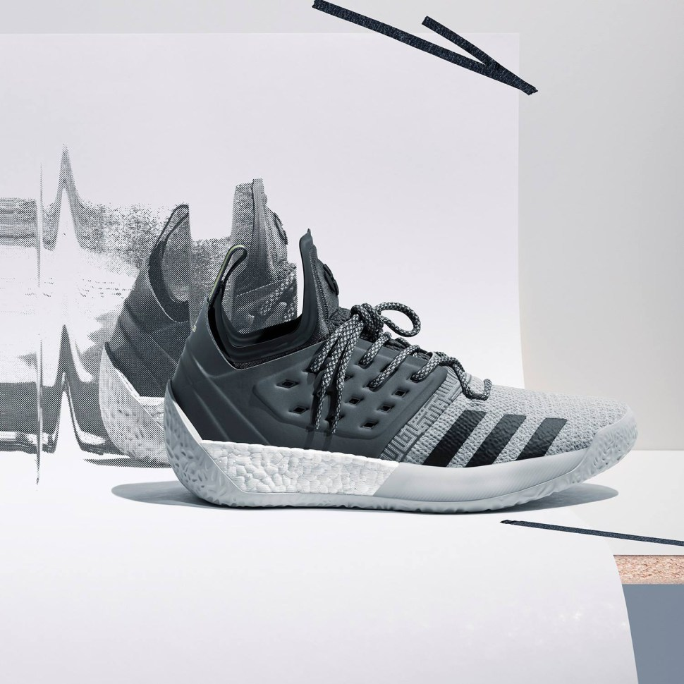 86d463f17d6e20 adidas Harden Vol 2 Concrete Grey