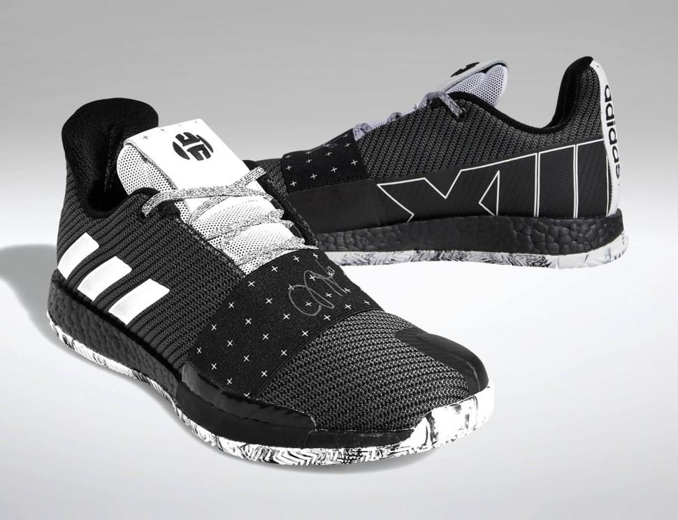 bcd10567ff73 Adidas Harden Volume 3 Cosmos Where To Buy Sportfits Com. Adidas Harden Vol  3 Boost James Black White Men Basketball Shoes