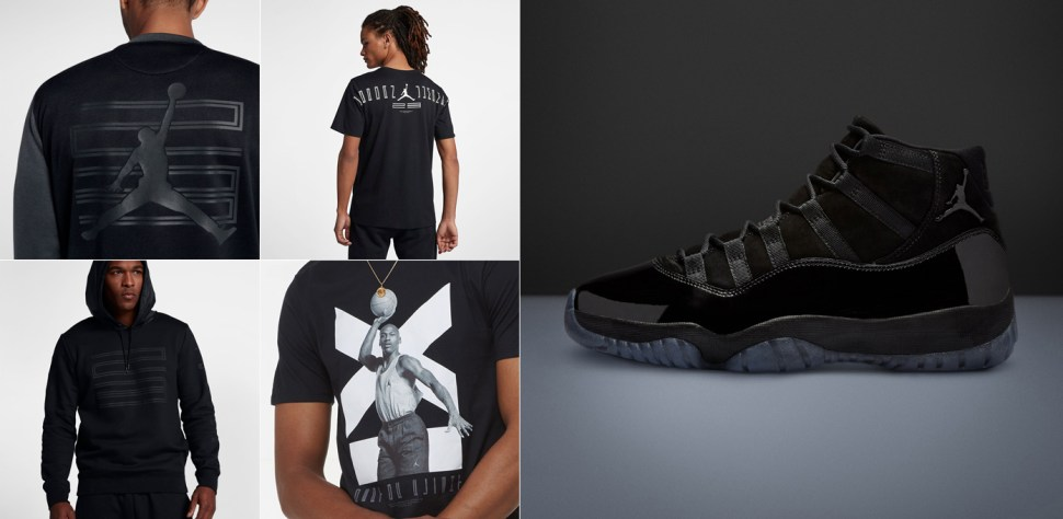 ee271bd229c Air Jordan 11 Cap and Gown Clothing to Match | SportFits.com