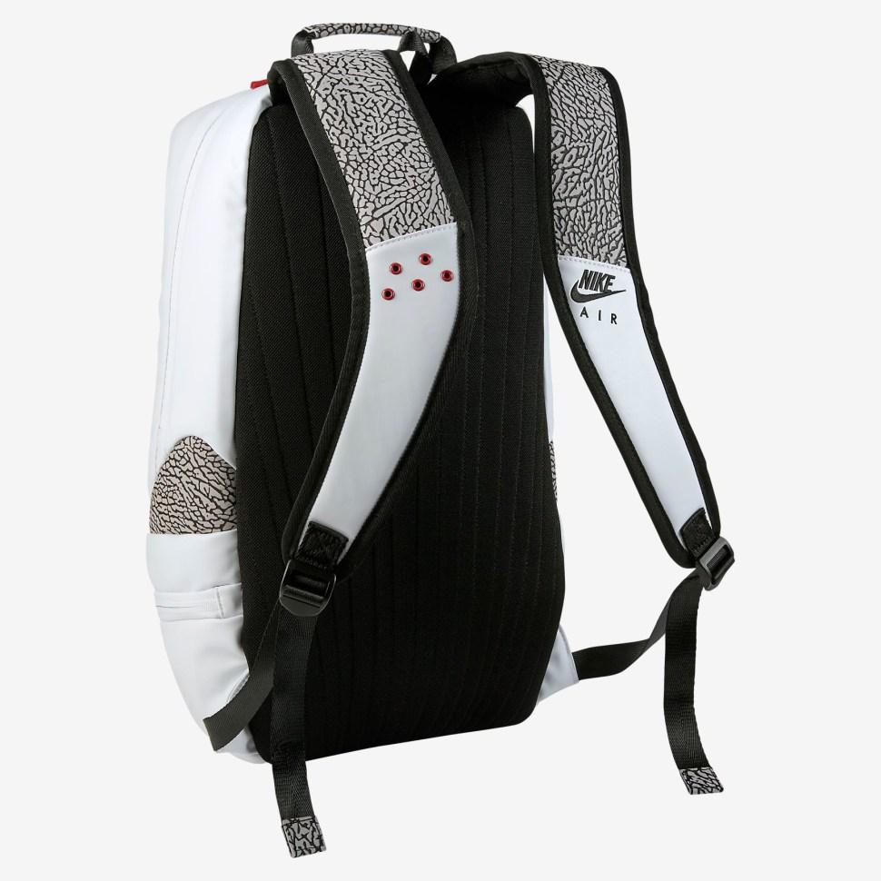 868f3ea94a5 Air Jordan 3 White Cement Backpack   SportFits.com