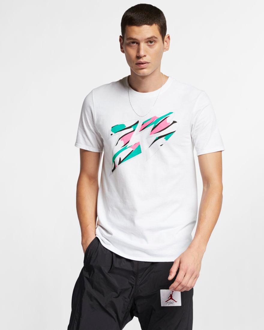 b57becc689ef Air Jordan 8 South Beach Sneaker Shirt