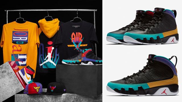 "a9990a0095 Air Jordan 9 ""Dream It Do It"" Collection"