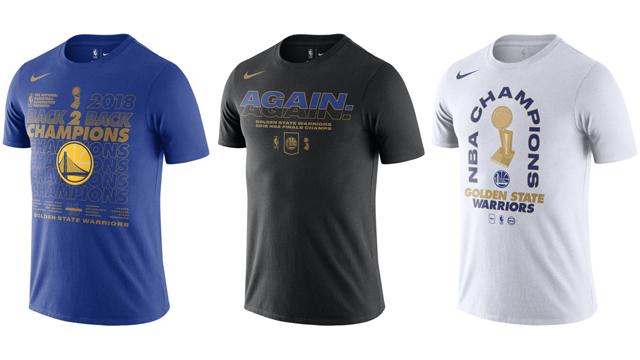 9ce9cee904e6 Golden State Warriors 2018 NBA Finals Champions Shirts