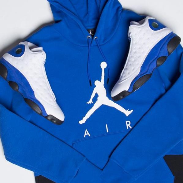 540079544446 jordan-13-hyper-royal-hoodie. Jordan Jumpman Air Hoodie