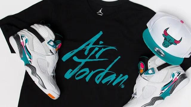 """39b6130c98 Air Jordan 8 """"South Beach"""" Collection"""