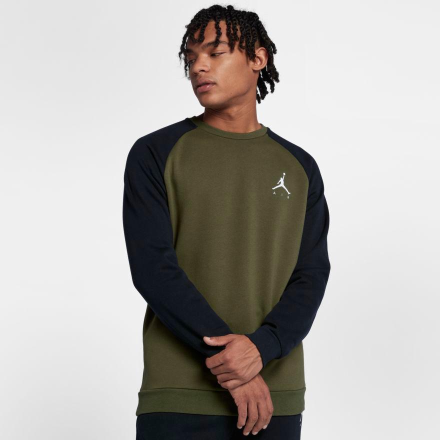 bajo precio diseño superior auténtico auténtico Jordan Jumpman Air Fleece Crew Sweatshirts | SportFits.com