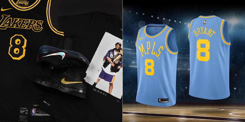 Nike Kobe Mamba Day 2018 Shirts and
