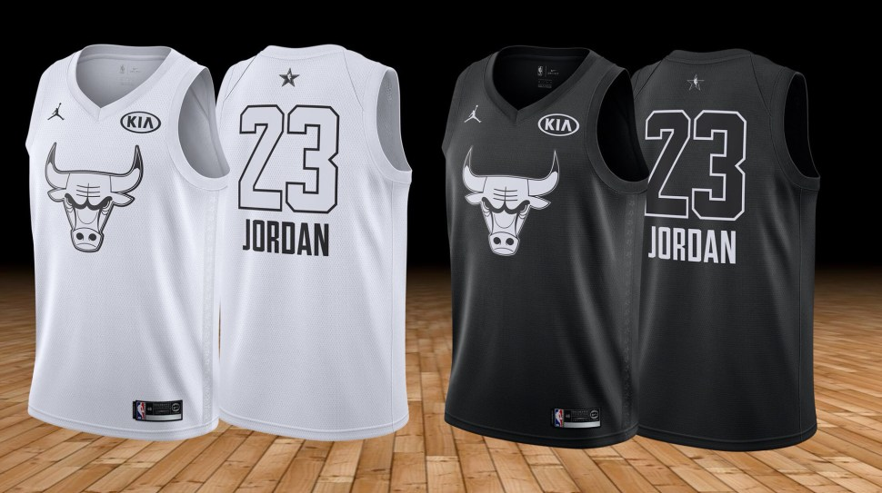 01b58ce3906 ... NBA All-Star version instead] such as the small gold championship patch  detail at the rear neck collar of the jersey and the numbers in a different  ...