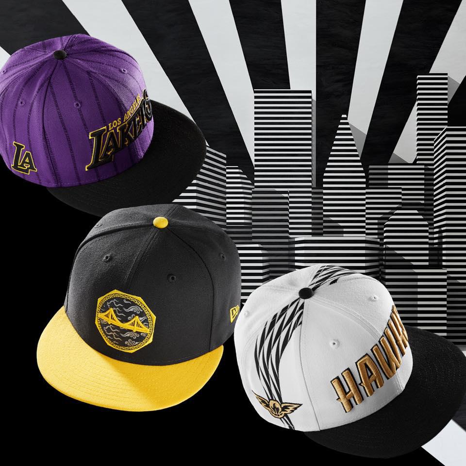reputable site bf383 13668 New Era NBA City Series 2.0 Caps