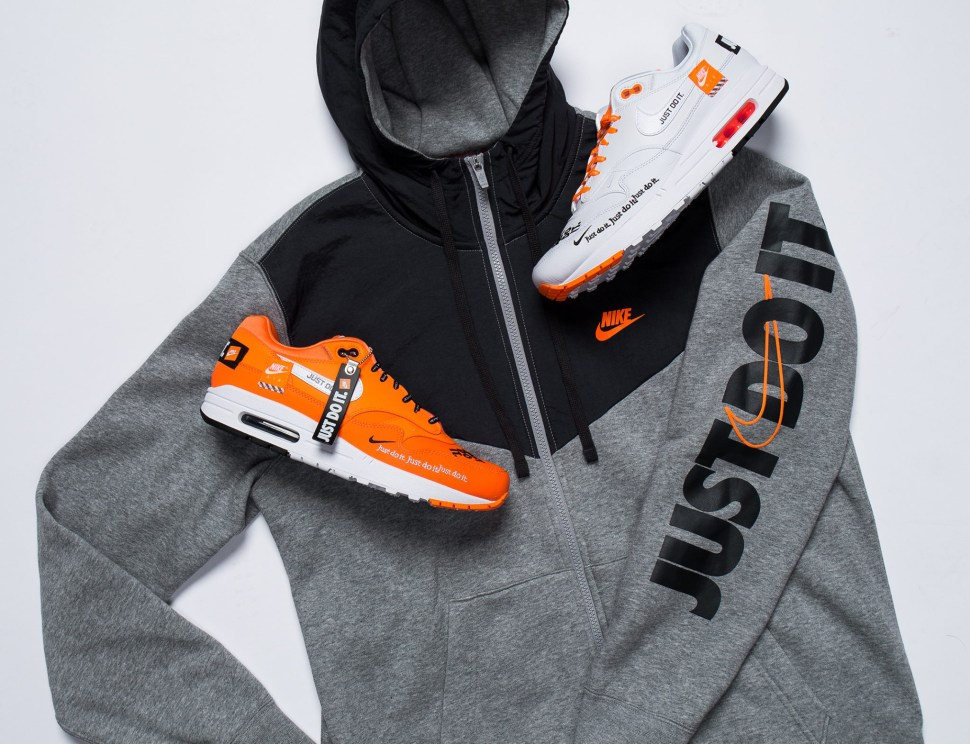 0b46f421 Nike Air Max 1 JDI Just Do it Hoodie Match   SportFits.com