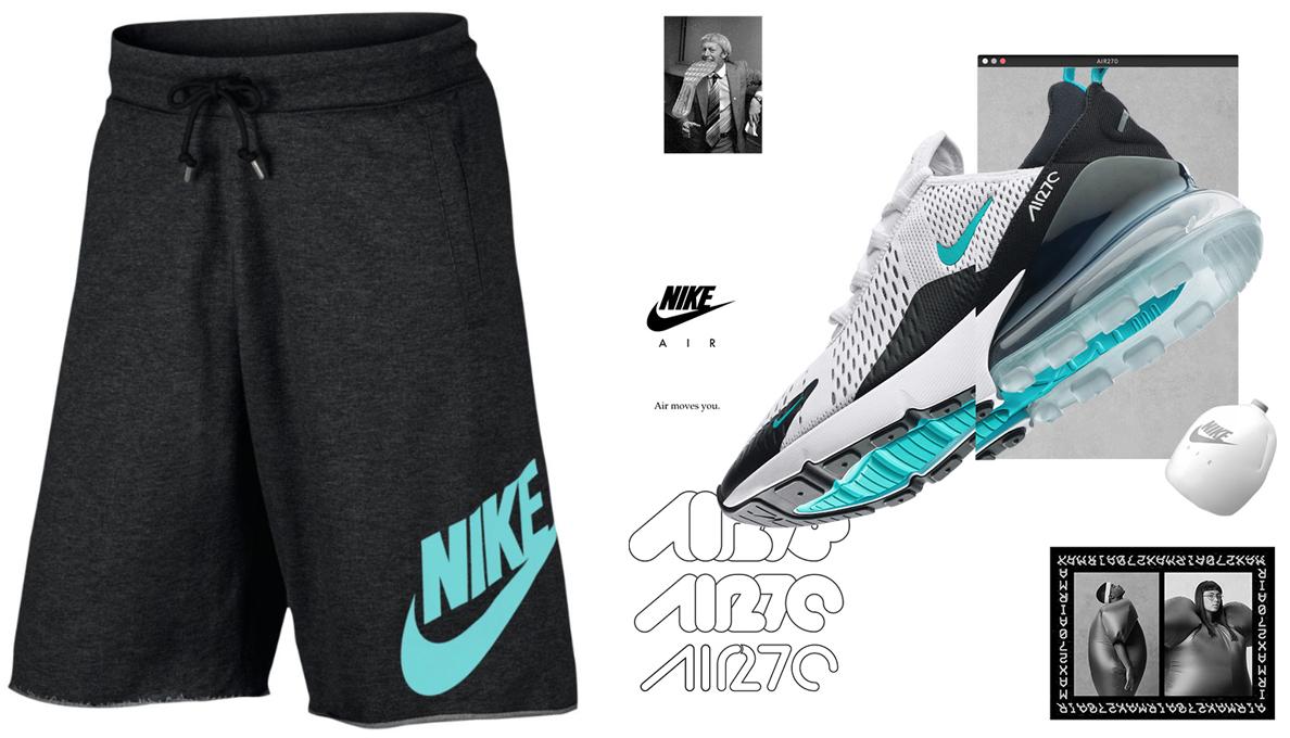 Nike Air Max 270 Dusty Cactus Shorts