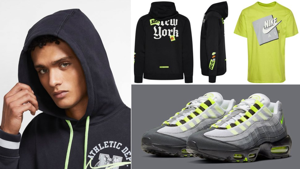 Perca Salir chasquido  Nike Air Max 95 OG Neon Shirts | SportFits.com