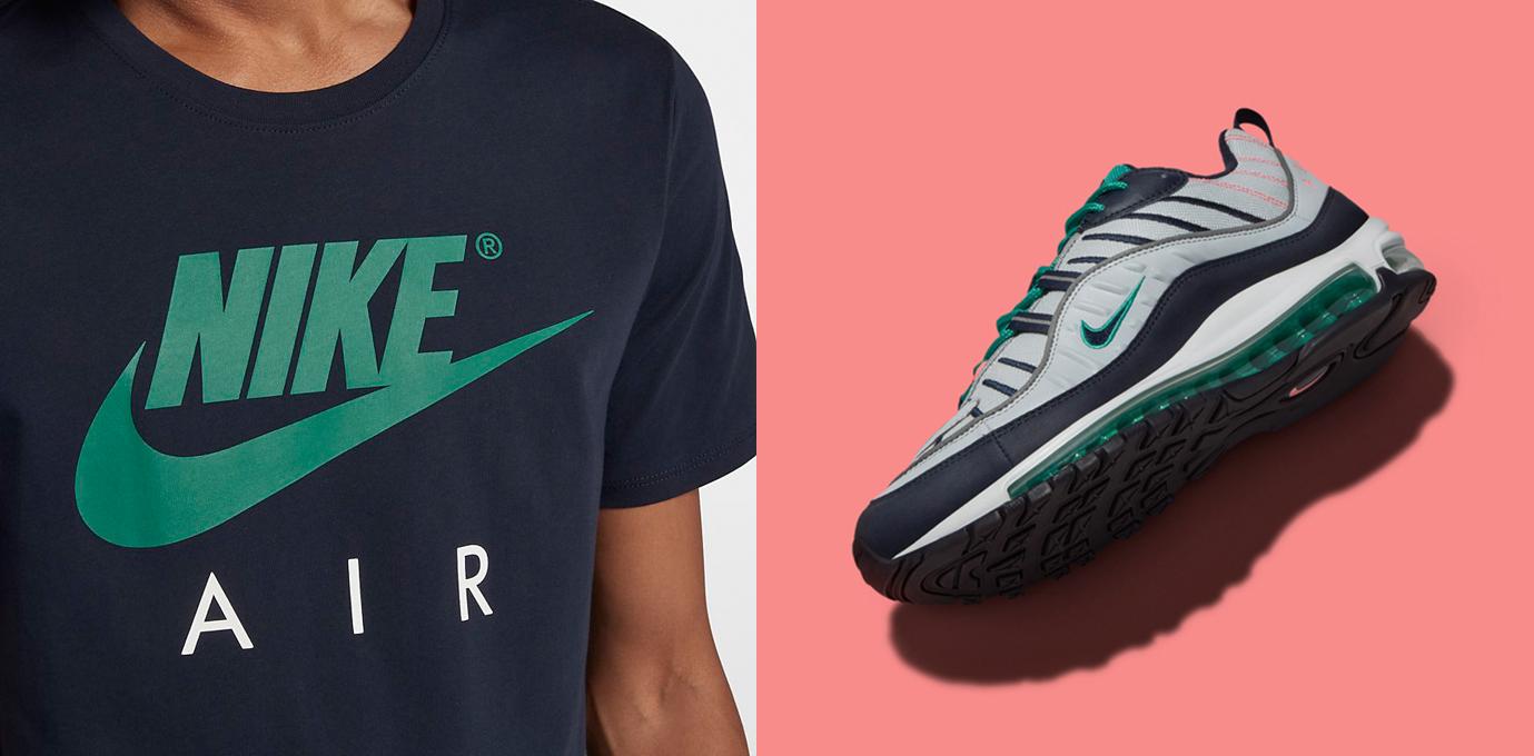 Nike Air Max 98 South Beach T Shirt Match  
