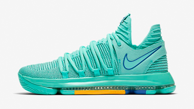 the best attitude dfcd9 268cb nike-kd-10-city-edition-hyper-turquoise