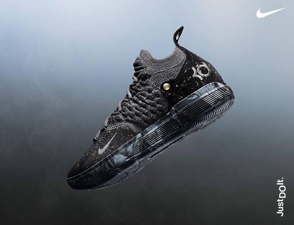 Nike KD 11 Gold Splatter Where to Buy