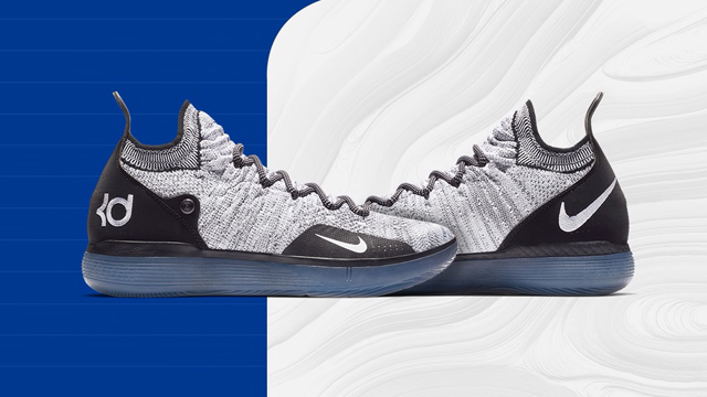 pretty nice b7122 be91e Nike KD 11 Now Available in Black White Racer Blue