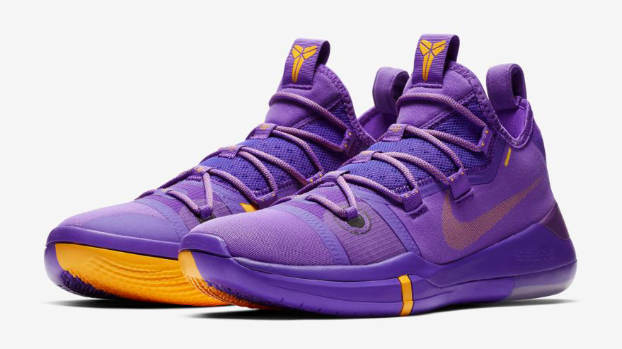 c1947ff48d38 Nike Kobe AD Lakers Hyper Grape Purple Gold