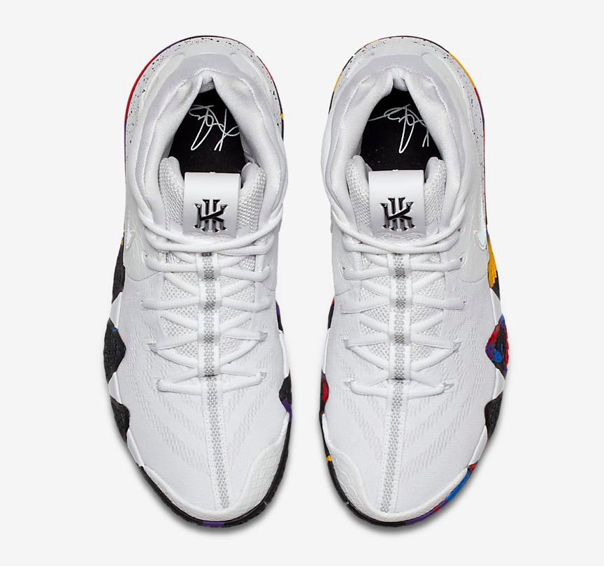 """buy online 92027 40c1a Nike Kyrie 4 """"March Madness"""""""