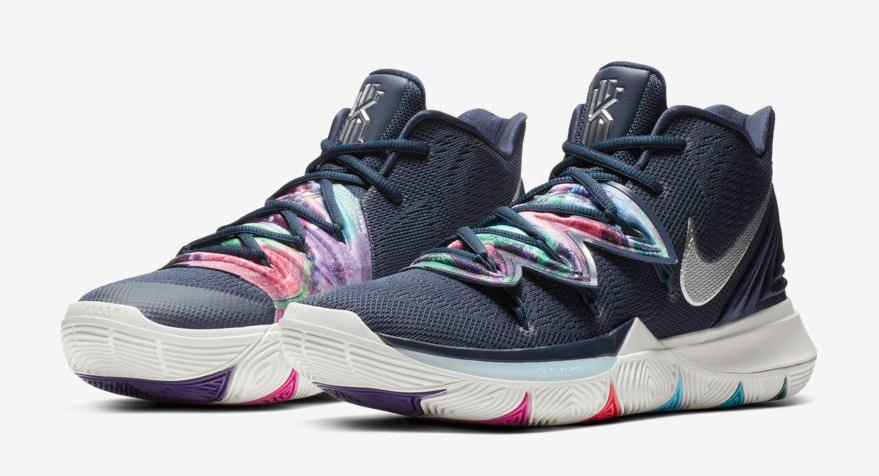 Nike Kyrie 5 Multi Color Galaxy Where