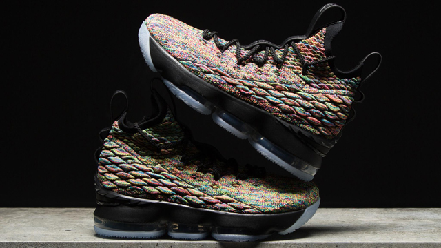 967fc8f6f5ba Nike LeBron 15 Multi Color Four Horsemen
