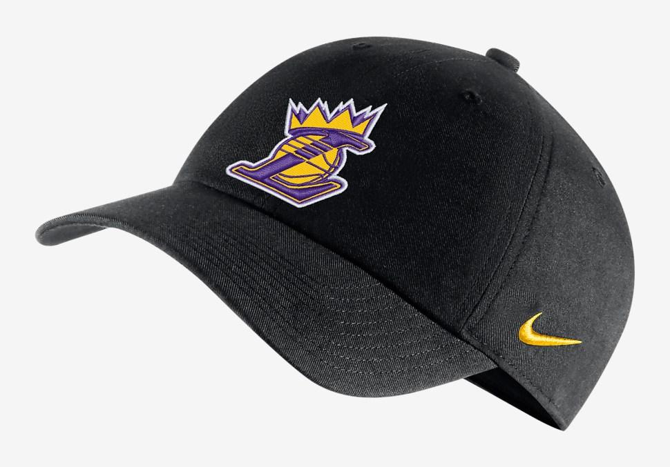 Nike Lebron LA Lakers Crown Shirt and Hat  e2a6b93656c