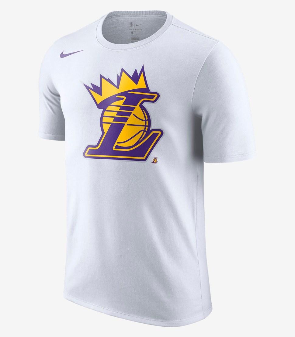 newest 021b5 12e7c Nike Lebron LA Lakers Crown Shirt and Hat | SportFits.com