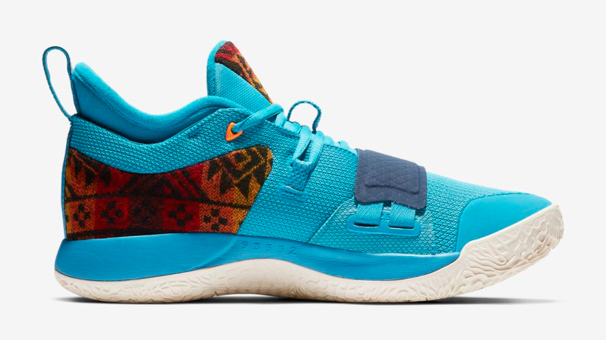 sports shoes 01881 d6fd4 Nike PG 2.5 Pendleton Where to Buy | SportFits.com
