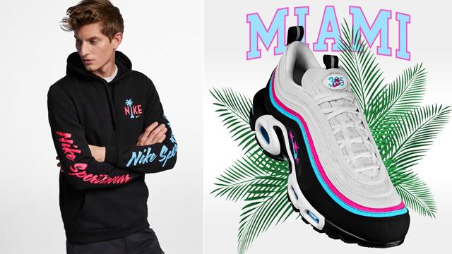 Nike Air Max 97 South Beach Miami Hoodie |