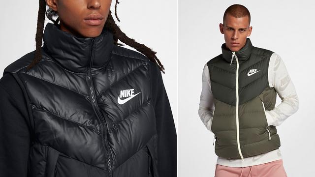 9af8b39e5337 Nike Sportswear Windrunner Down Fill Vests