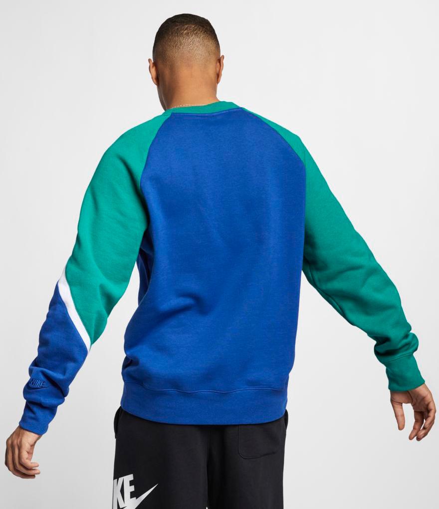 nike 2 swoosh sweatshirt