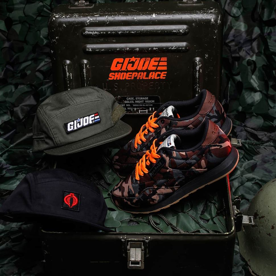 8399dc03266 Reebok GI Joe Classic Shoe and Hats