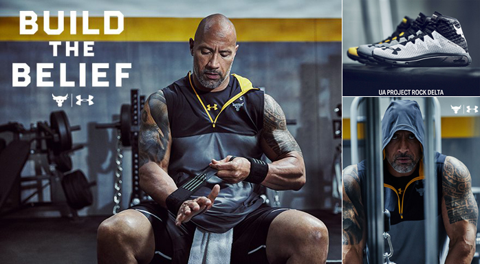 Under Armour The Rock New Shoes And Clothing Sportfits Com