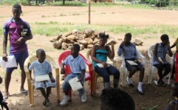 Ebola Orphan Project (EOP) is sponsoring these six children