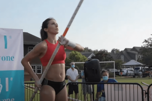 Pole Vaulters Innovate New Ways to Compete
