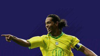 Пеле и Мальдини вошли в команду Роналдиньо в FIFA 18