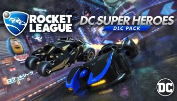 Автопарк Rocket League пополнится машинами супергероев