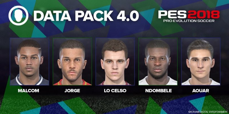 Pro Evolution Soccer 2018 – DLC 4.00
