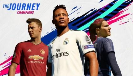 «Три героя. Три истории». Подробности режима «История: чемпионы» в FIFA 19