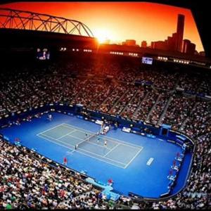 Carantina le-a pus imaginația la treabă! Ce soluție au găsit tenismenii de la Melbourne pentru a se antrena