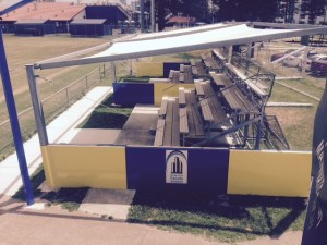 Broadbeach United Shade Grandstand Cover