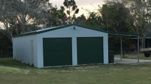 Granville Soccer Club After Shed