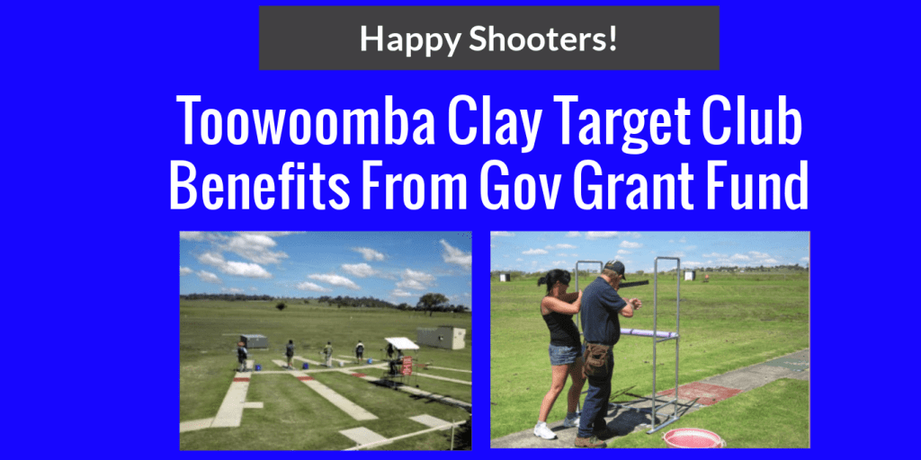 Toowoomba Gun Club Gets Sport Grants