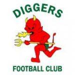 Diggers FC Bundaberg Logo